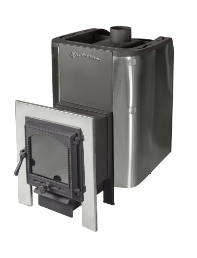 Печь-каменка «бренеран» с теплообменником теплообменник рулевого механизма бульдозера sd 16